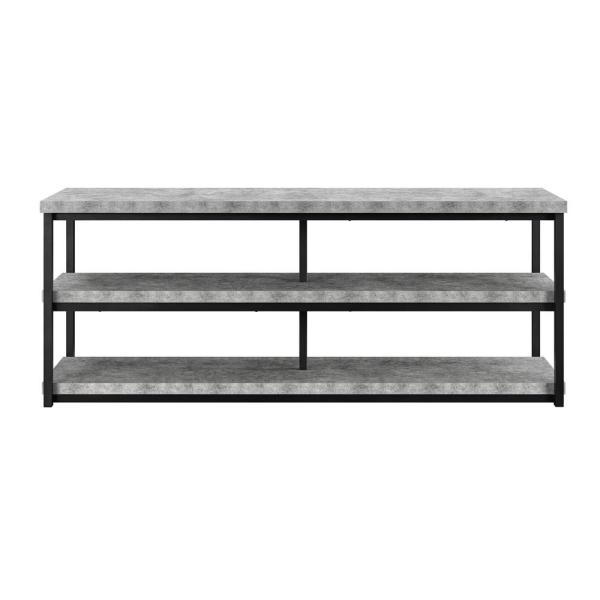 Ameriwood Yellowstone 65 in. TV Stand in Concrete Gray