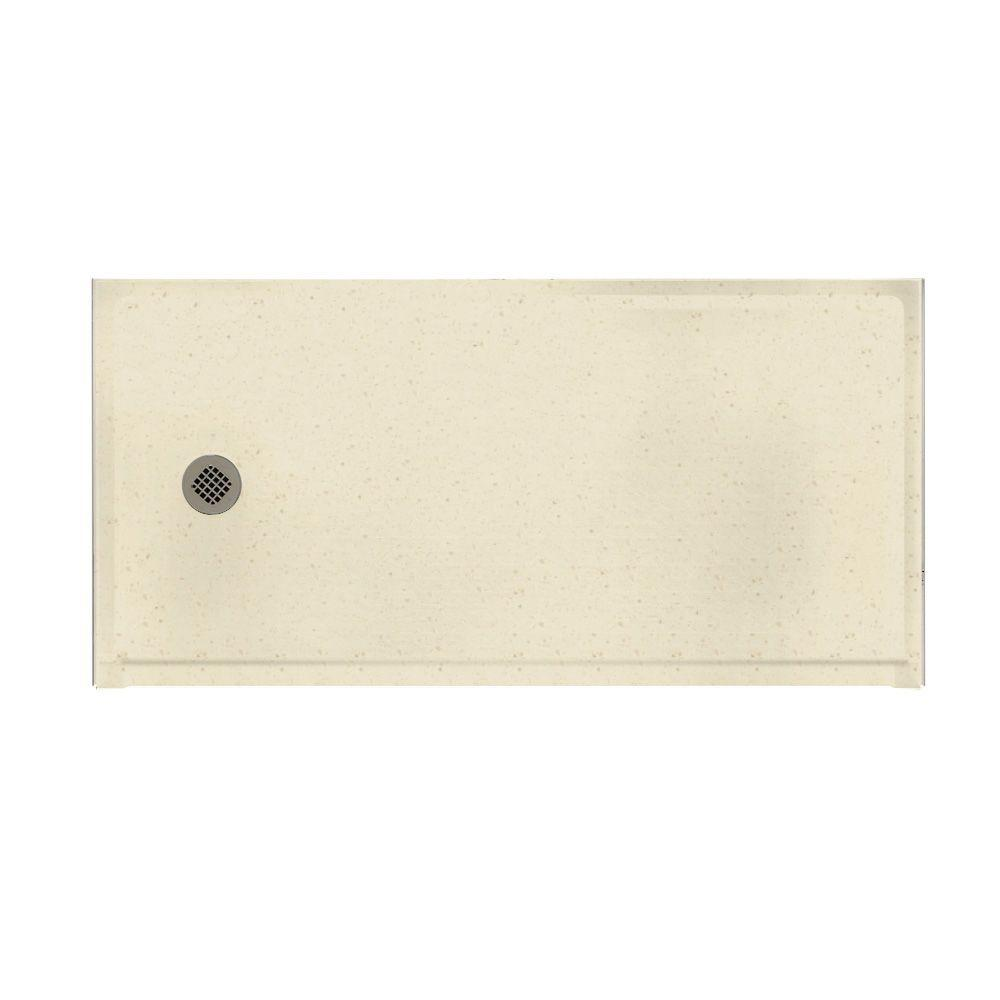 Swanstone Barrier Free 30 in. x 60 in. Single Threshold Shower Floor in Caraway Seed-DISCONTINUED