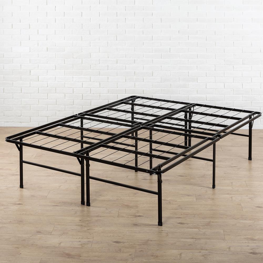 High Profile SmartBase Twin Metal Bed Frame