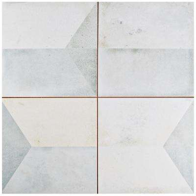 Geomento 17-5/8 in. x 17-5/8 in. Ceramic Floor and Wall Tile (11.02 sq. ft. / case)