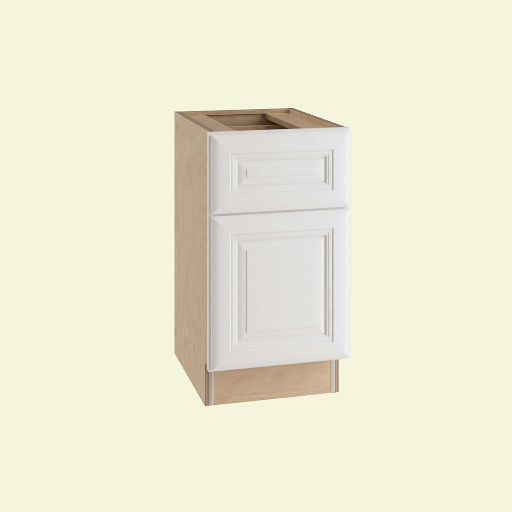 Brookfield Assembled 15x28.5x21 in. Single Door and Drawer Hinge Right Base