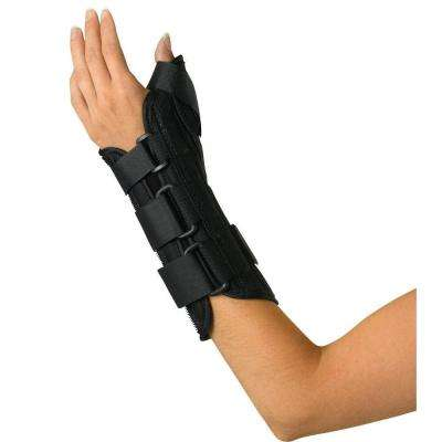 Medium Wrist and Forearm Left-Handed Splint with Abducted Thumb