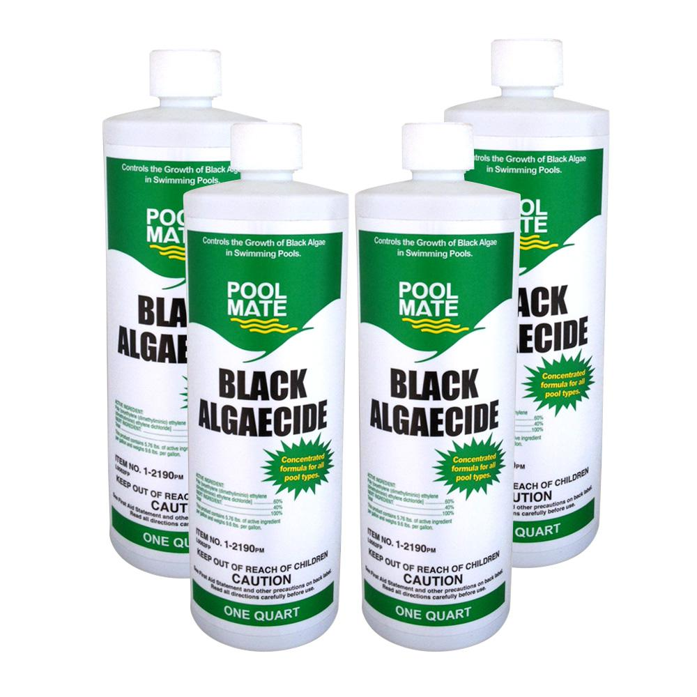 1 qt. Pool Black Algaecide (4-Pack)