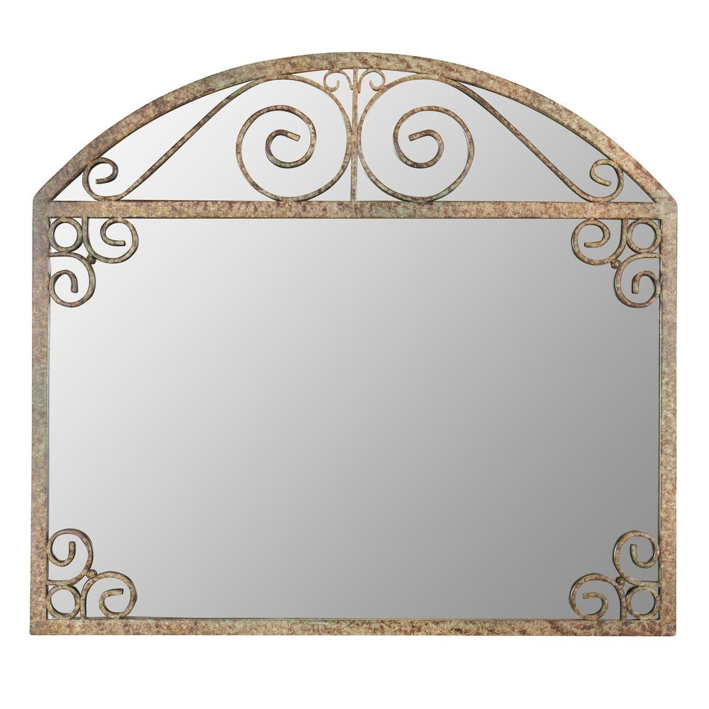 Melina Arch Frame Wall Mirror-5179 - The Home Depot