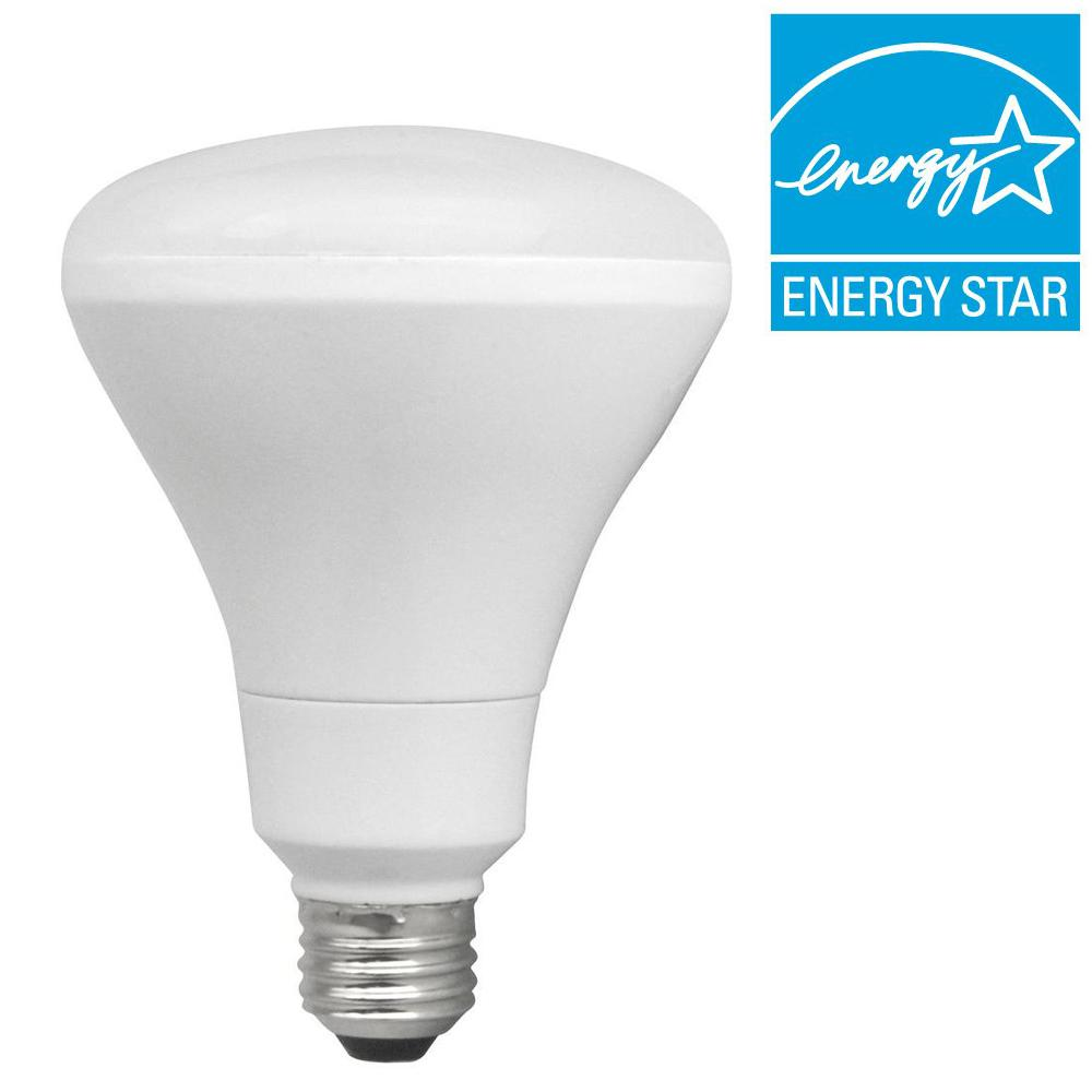 TCP Connected 65W Equivalent Daylight (5000K) BR30 Smart LED Light Bulb