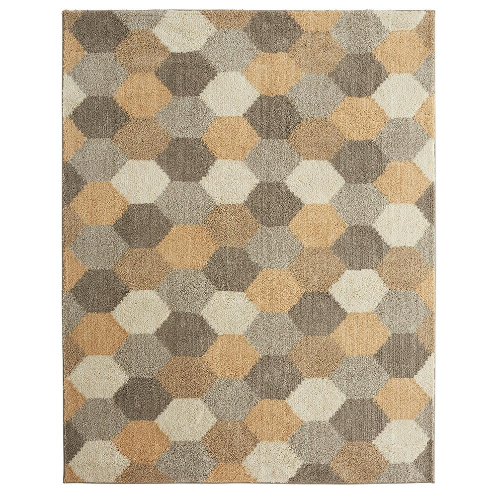 Mohawk Geo Board Gray 3 Ft X 5 Indoor Outdoor Area Rug