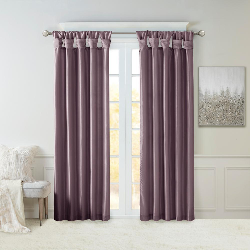 Purple Curtains D Window