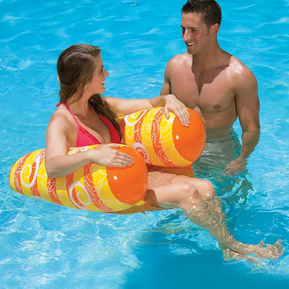 Poolmaster Vinyl Ride-On Swimming Pool Water Chair by Poolmaster