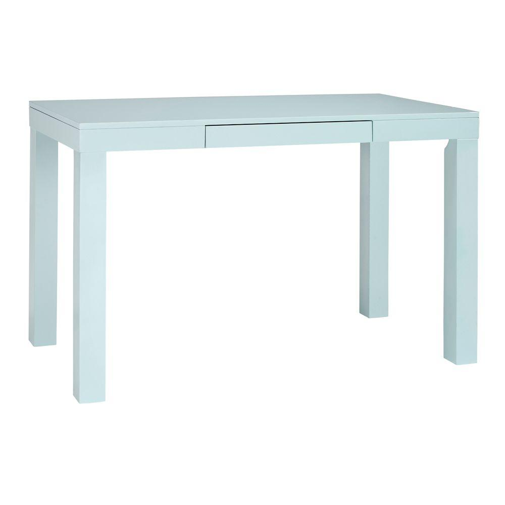 Home Decorators Collection Parsons Desk in Blue