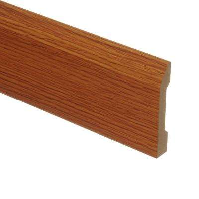 Saybrook Oak 9/16 in. Thick x 3-1/4 in. Wide x 94 in. Length Laminate Wall Base Molding