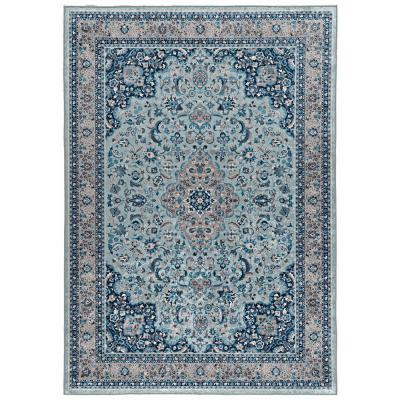 Echelon Lori Blue/Ivory 2 ft. 2 in. x 3 ft. 2 in. Accent Rug