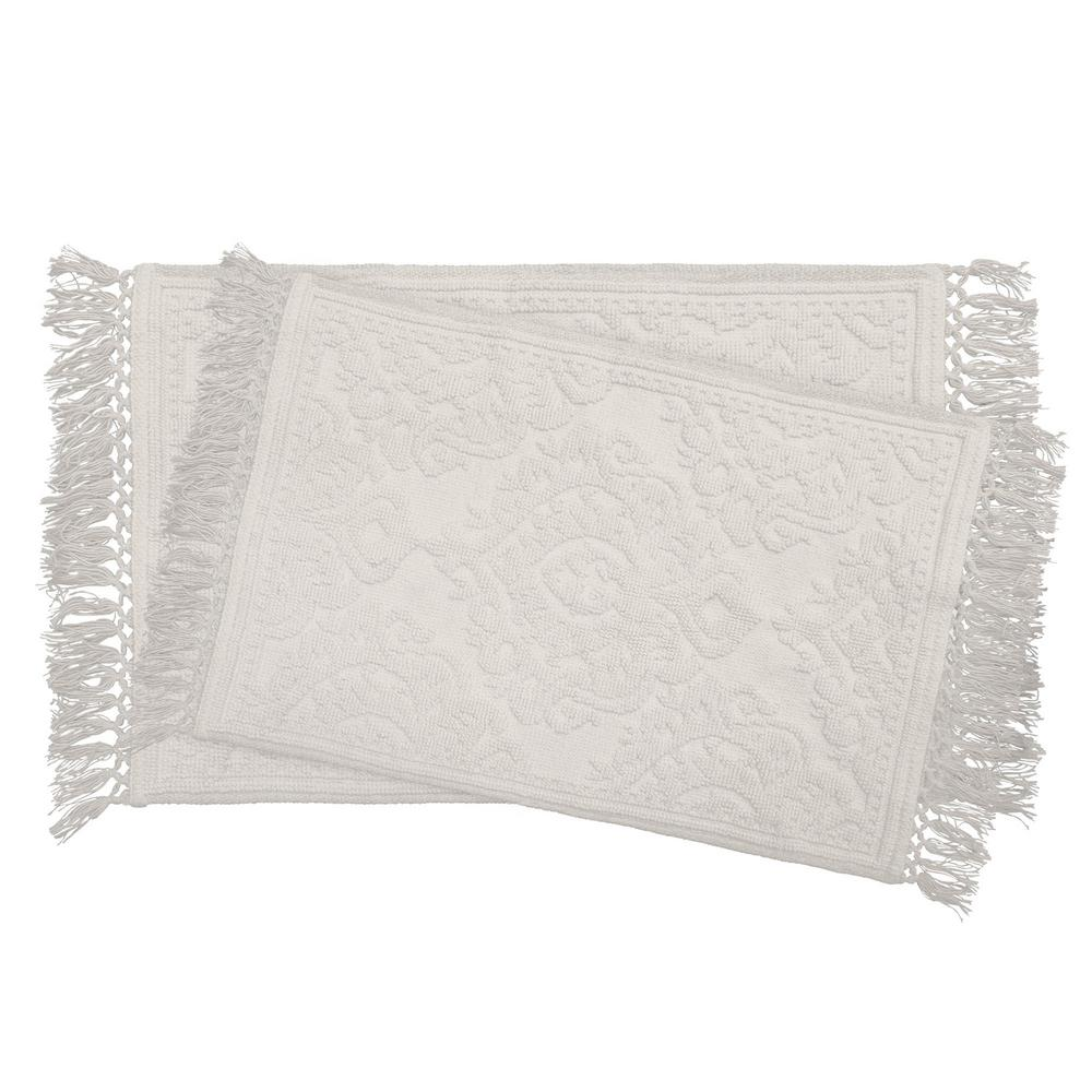 Ricardo Cotton Fringe 17 in. x 24 in./21 in. x 34