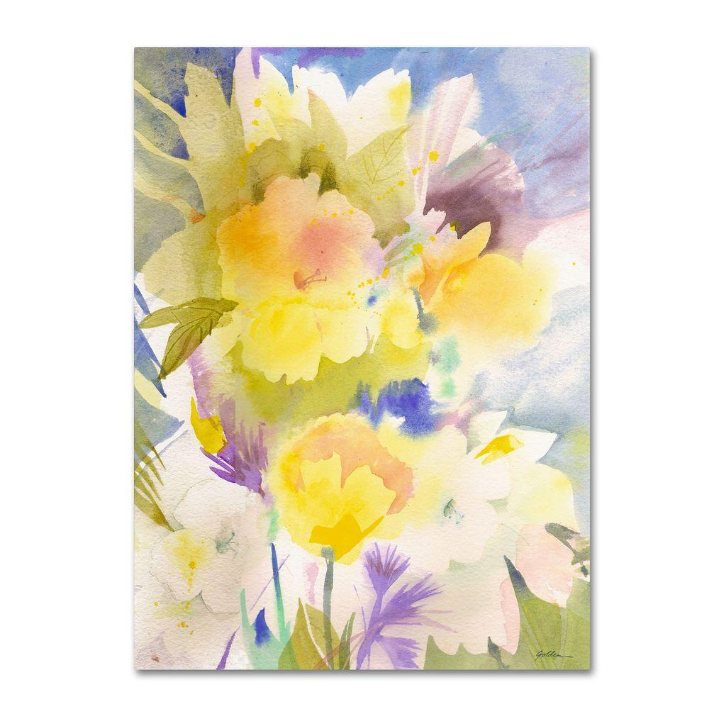 18 in. x 24 in. Summer's Yellows Canvas Art