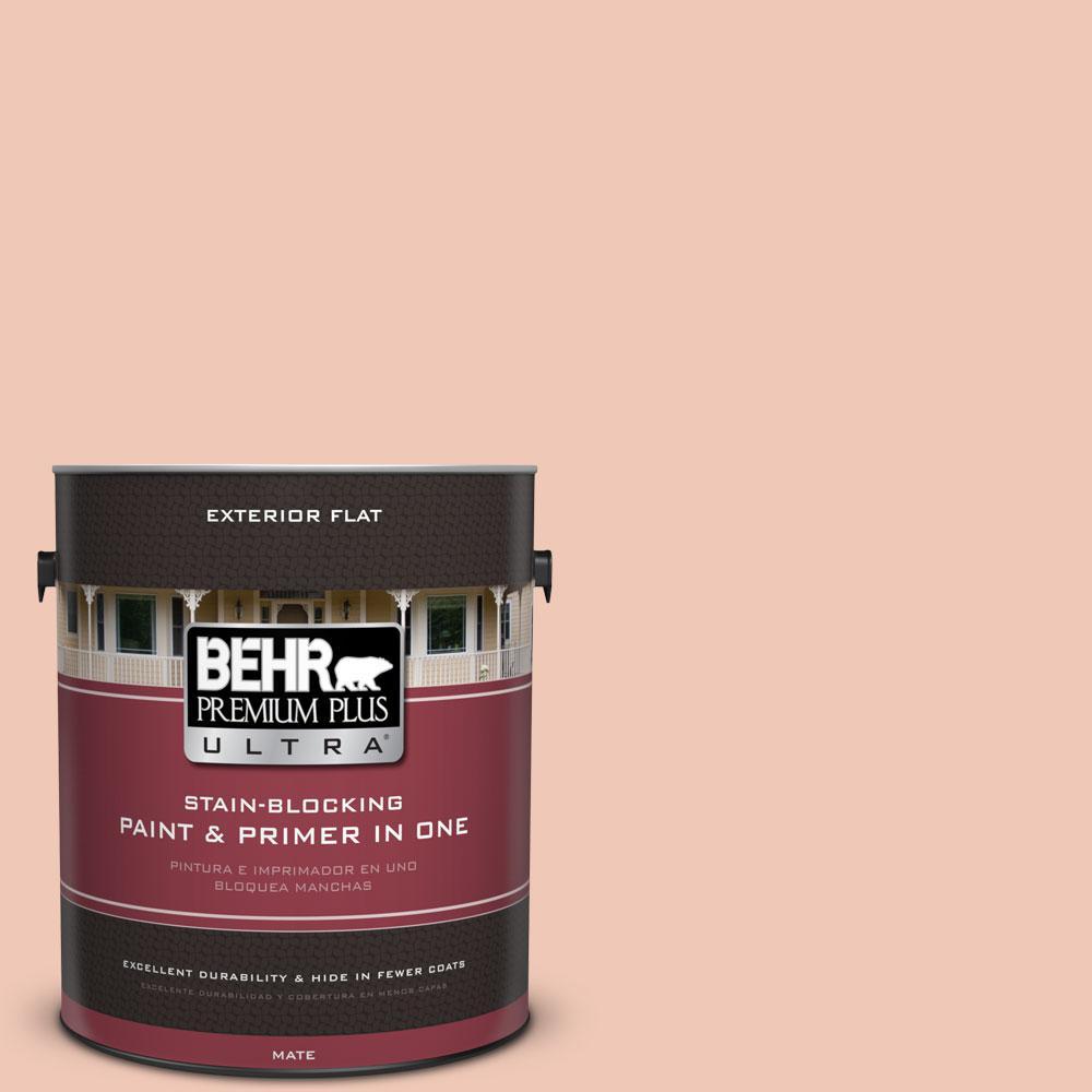 BEHR Premium Plus Ultra 1-gal. #M190-2 Everblooming Flat Exterior Paint
