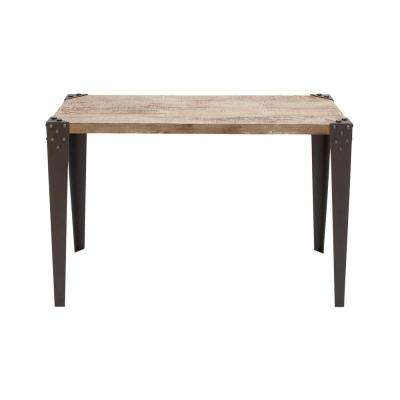 Brown Matte Console Table