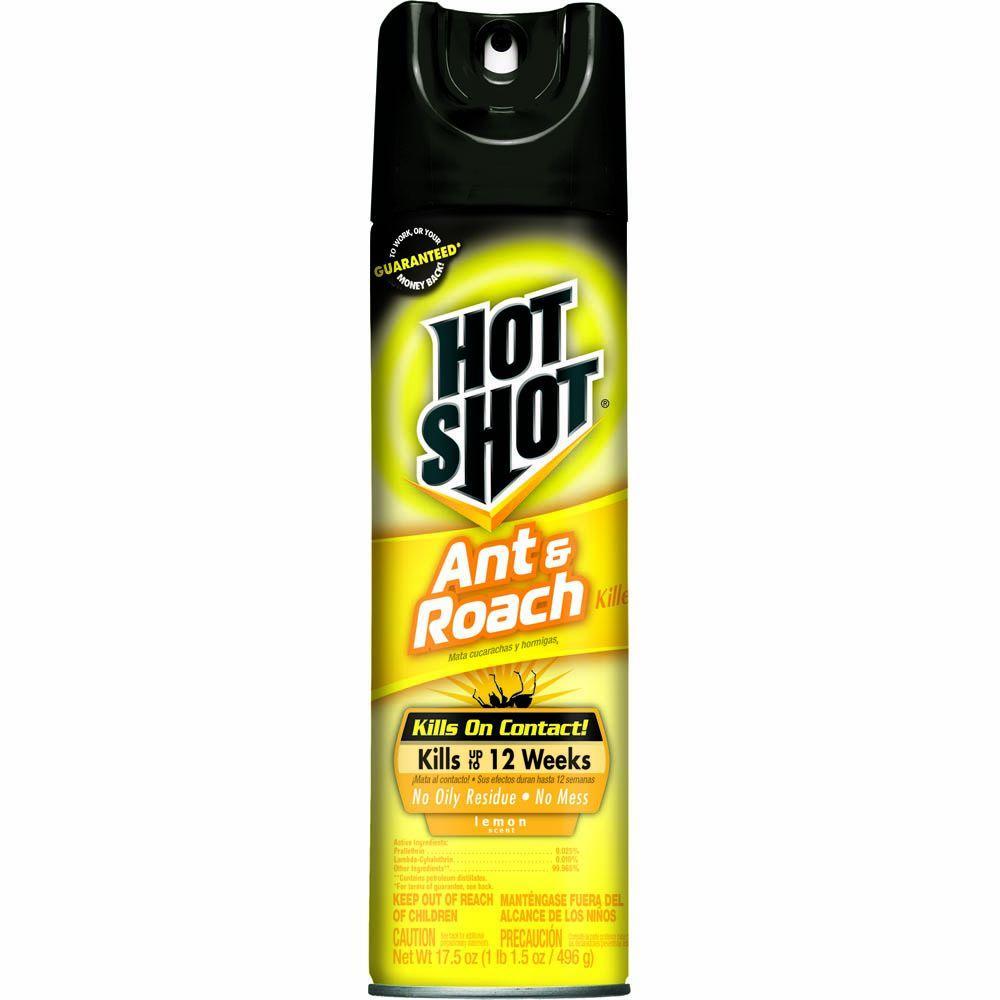 Ant and Roach Killer 17.5 oz. Aerosol Lemon Scent Spray