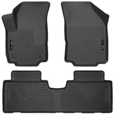 Front & 2nd Seat Floor Liners Fits 18-18 Equinox