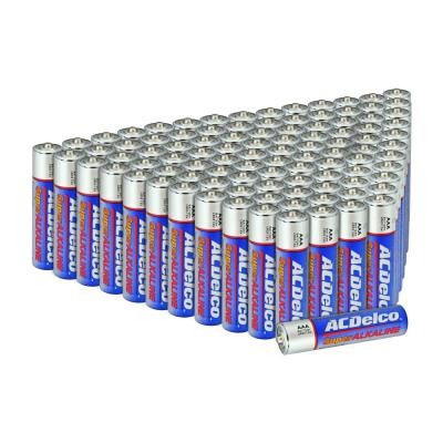 100 of AAA Super Alkaline Battery with Recloseble Box