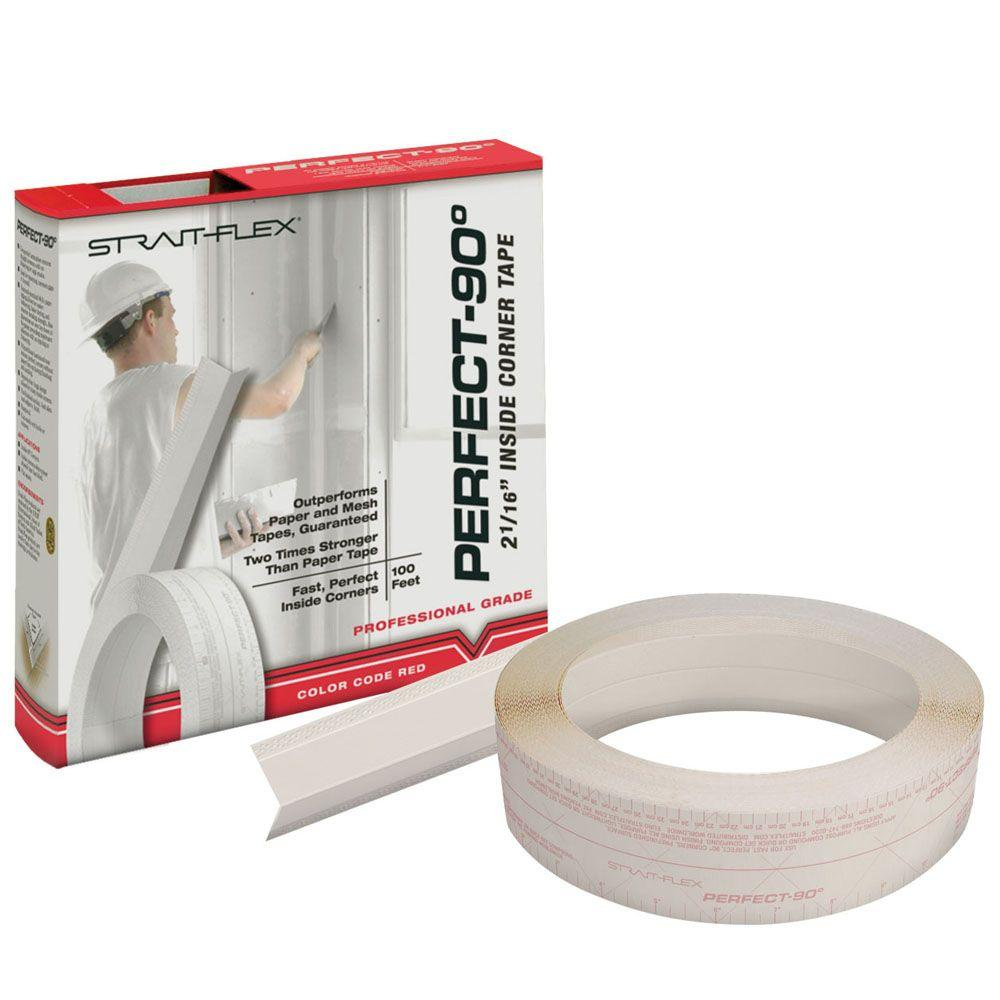 Strait-Flex 2 in. x 100 ft. Perfect 90 Drywall Joint Tape Inside Corners P-90-100