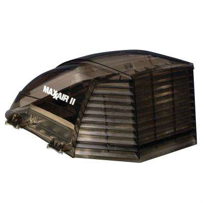 Vent Cover for MaxxAir II in Smoke