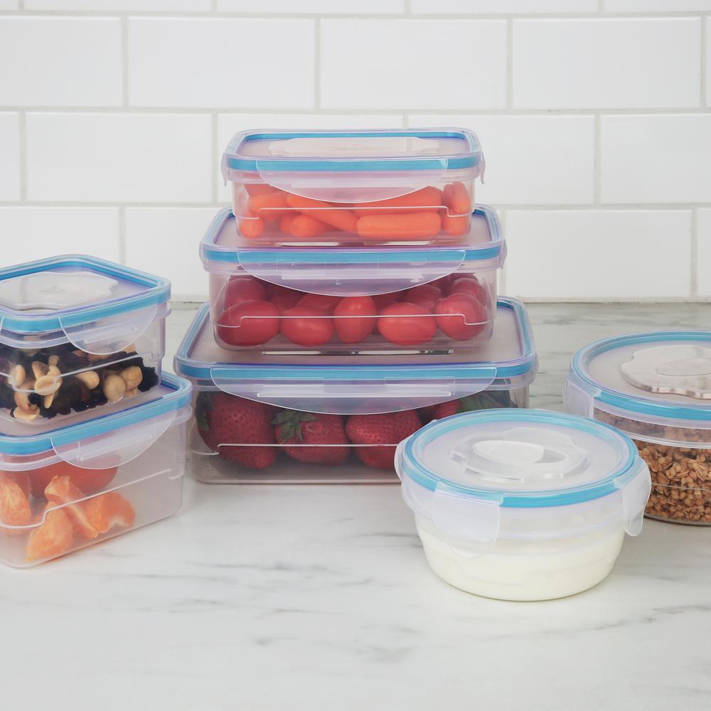 Kitchen Details 16-Piece Food Storage Container Set with ...