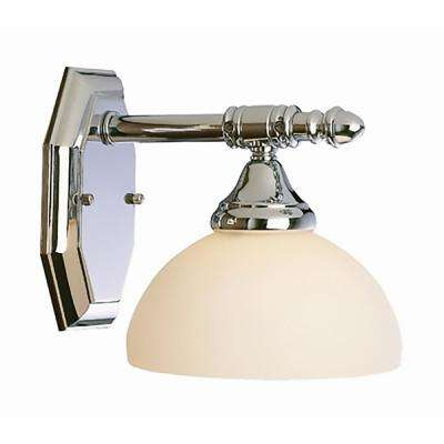Village 1-Light Brushed Nickel Sconce