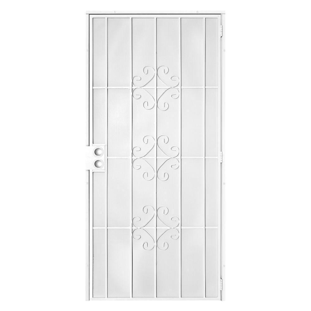 Unique Home Designs - Single Door - Security Doors - Exterior Doors ...