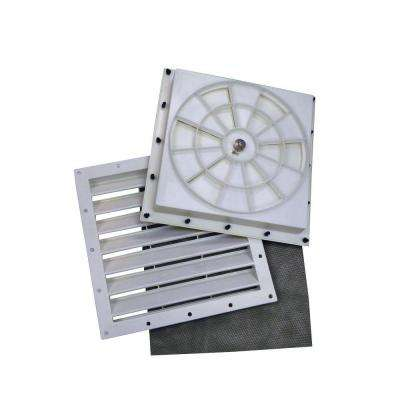 Automatic Shelter Vent Kit (2-Pack) with Two Vents, Two Screens, and Temperature-Controlled Automatic Open/Close