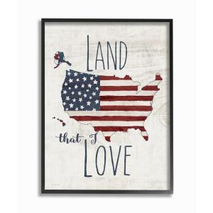 The Stupell Home Decor Collection 16 In X 20 In Land That