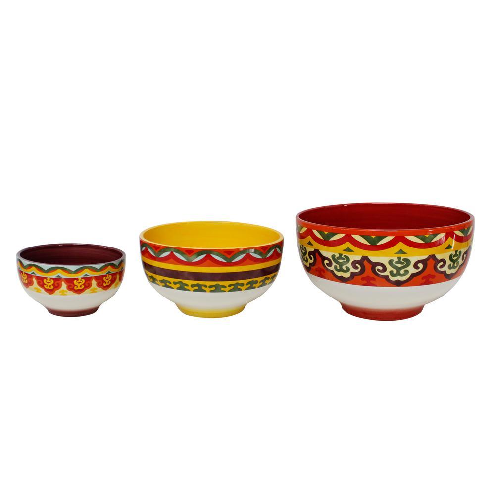 Galicia 3-Piece Mixing Bowl Set