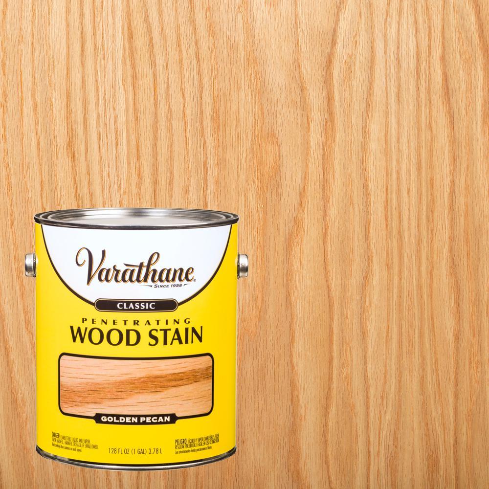 Varathane 1 gal. Golden Pecan Classic Wood Interior Stain