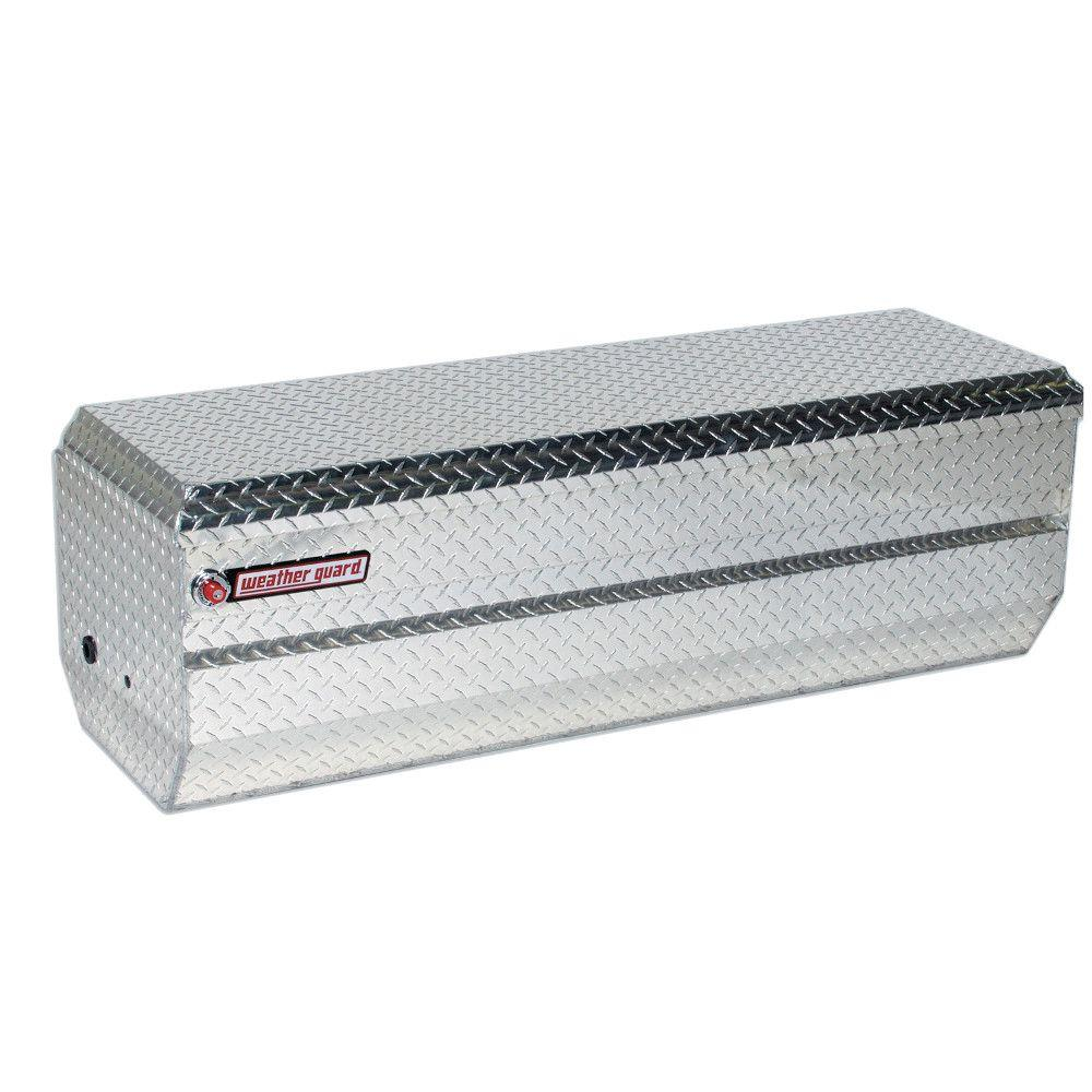 Weather Guard 62 Diamond Plate Aluminum Full Size Chest Truck Tool Box