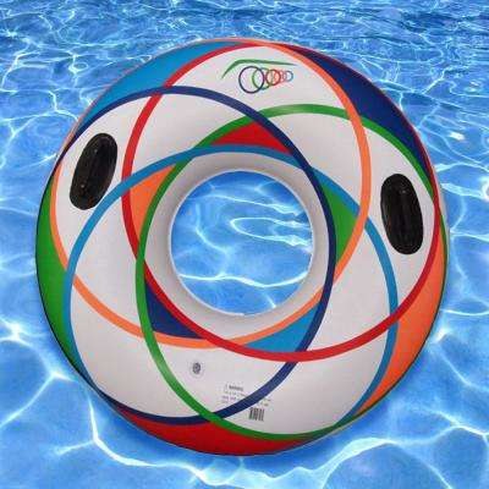 White 46 in. Pool Sports Tube