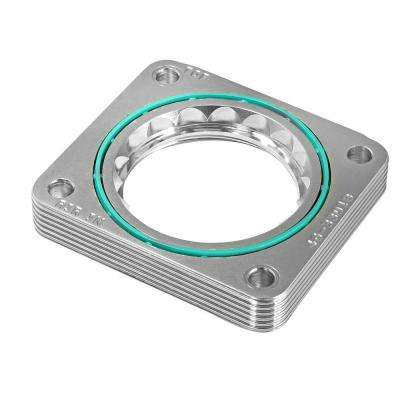 Silver Bullet Throttle Body Spacer for BMW X5 4.4i/4.6is (E53) 00-06 V8-4.4L/4.6L (M62/N62)