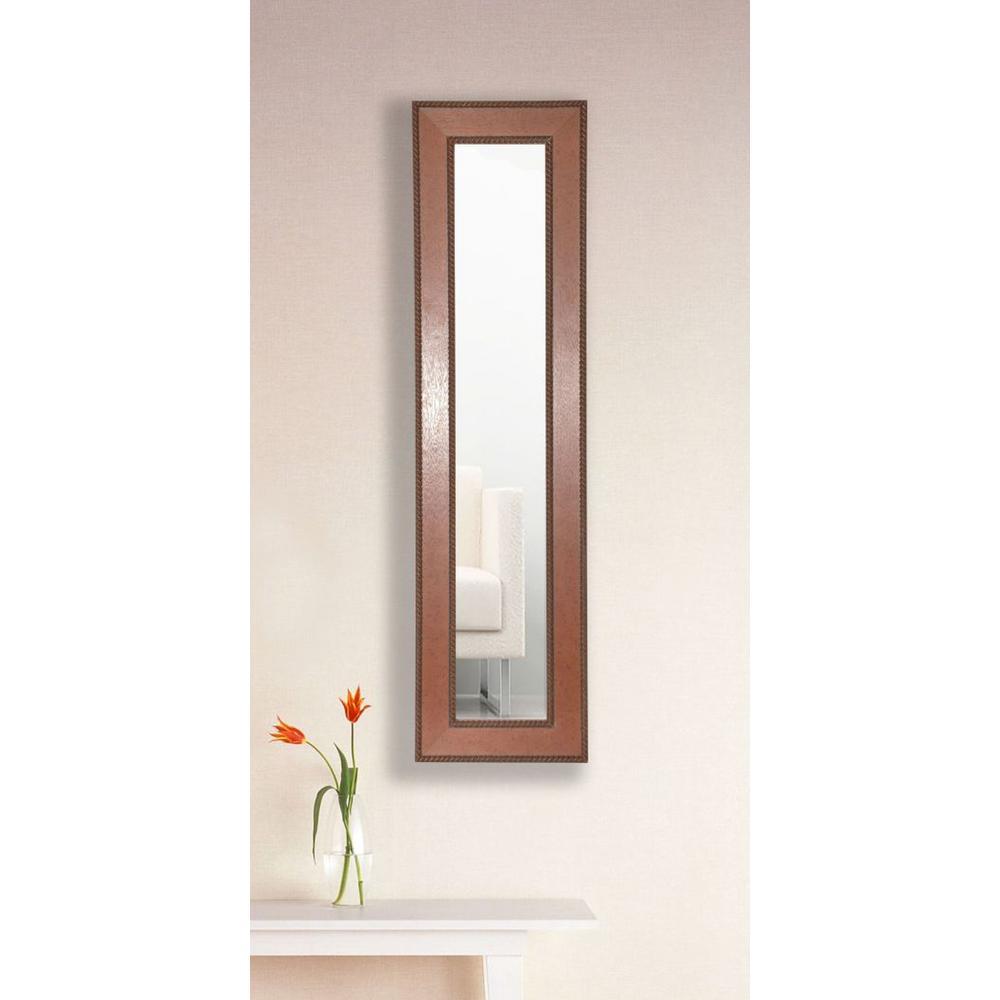 10.5 in. x 31.5 in. Western Rope Vanity Mirror Single Panel