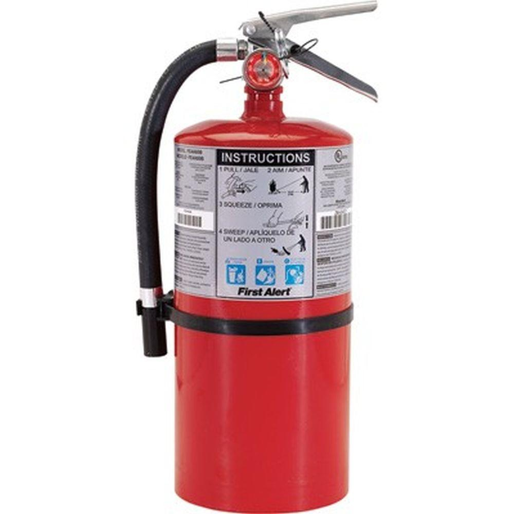 First Alert 4-A:60-B:C Rechargeable Commercial Fire Extinguisher (2-Pack)