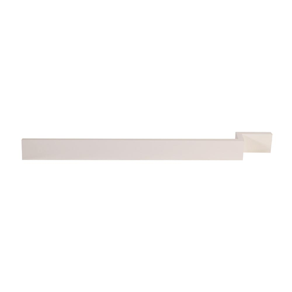 Brookings 3 in. x 96 in. Cabinet Filler Strip in White