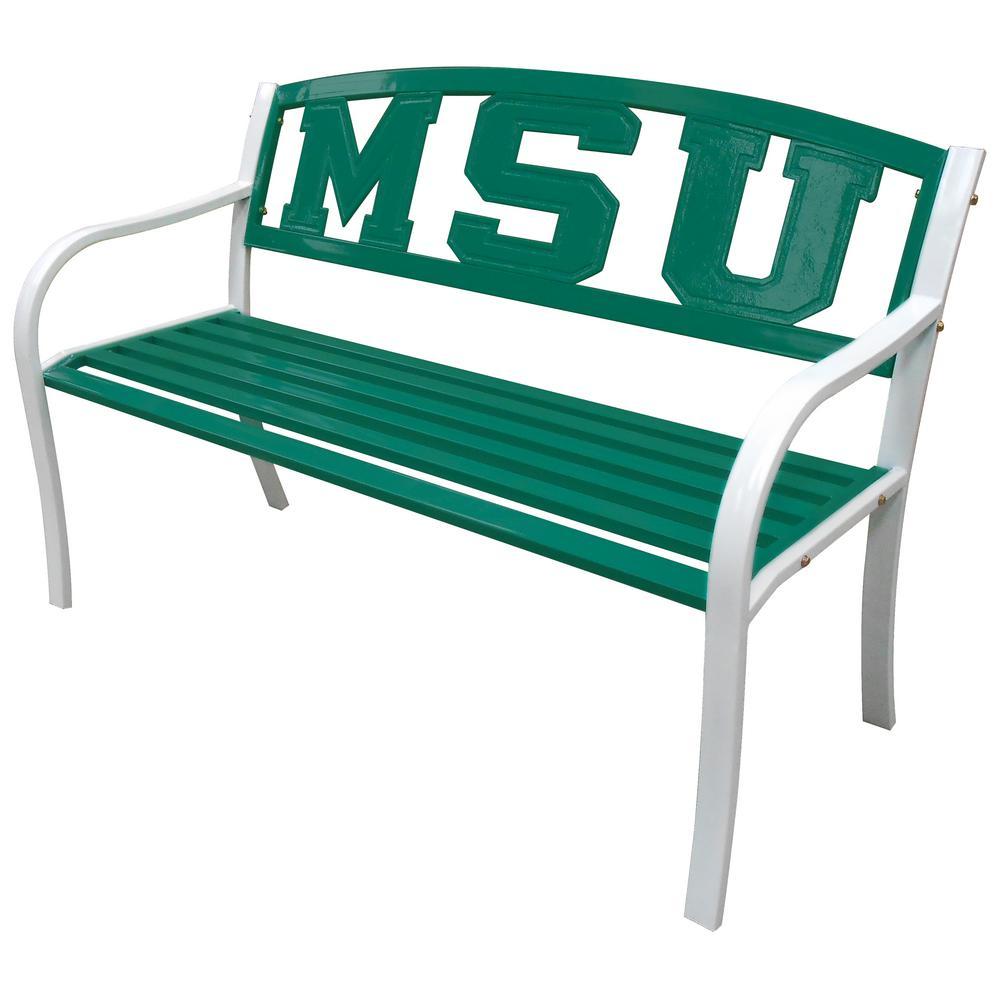 Spartans MSU Metal Patio Bench