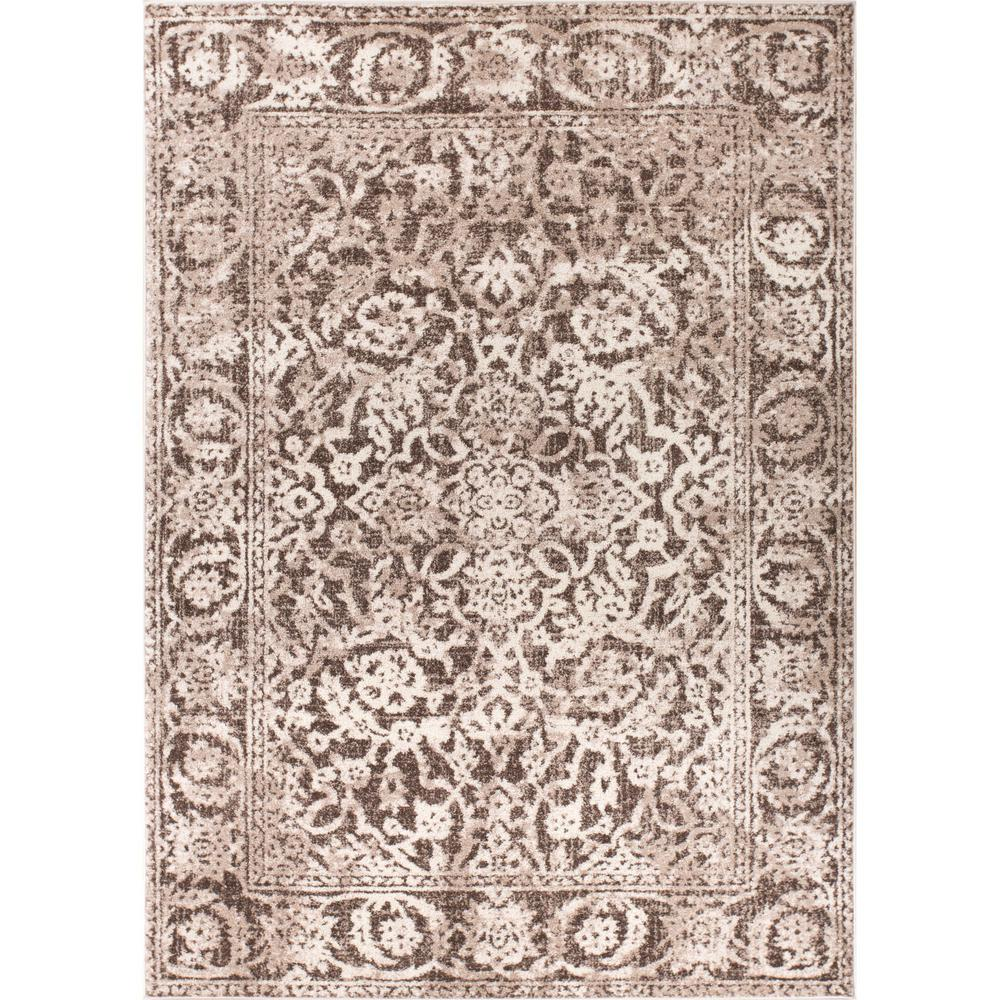 Well Woven Sydney Vintage Sheffield Natural 8 Ft X 11 Traditional Area Rug