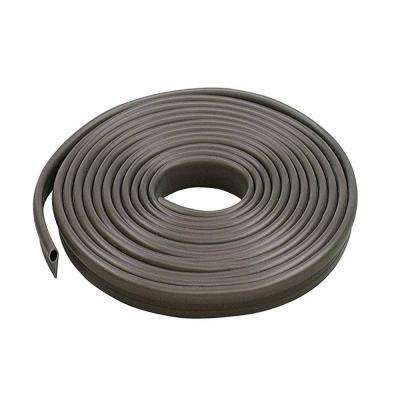 1/2 in. x 17 ft. Brown Vinyl Gasket Weatherstrip