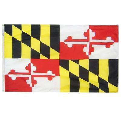 3 ft. x 5 ft. Maryland State Flag
