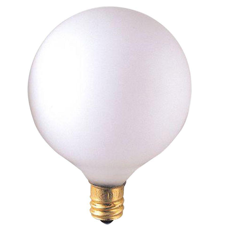 Bulbrite 40-Watt Incandescent G16.5 Light Bulb (25-Pack)