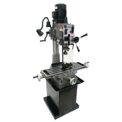 JMD-40GH Geared Head Mill/Drill Press with Newall DP500 2-Axis Dro