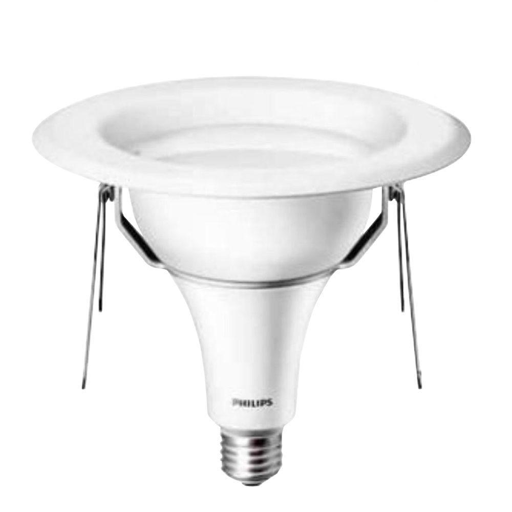 Philips 75W Equivalent Soft White (2700K) Recessed Downlight LED Flood Light Bulb (E*)