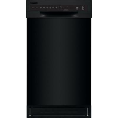 Front Control Built-In Tall Tub Dishwasher in Black with Stainless Steel Tub, ADA Compliant, ENERGY STAR, 52dBA