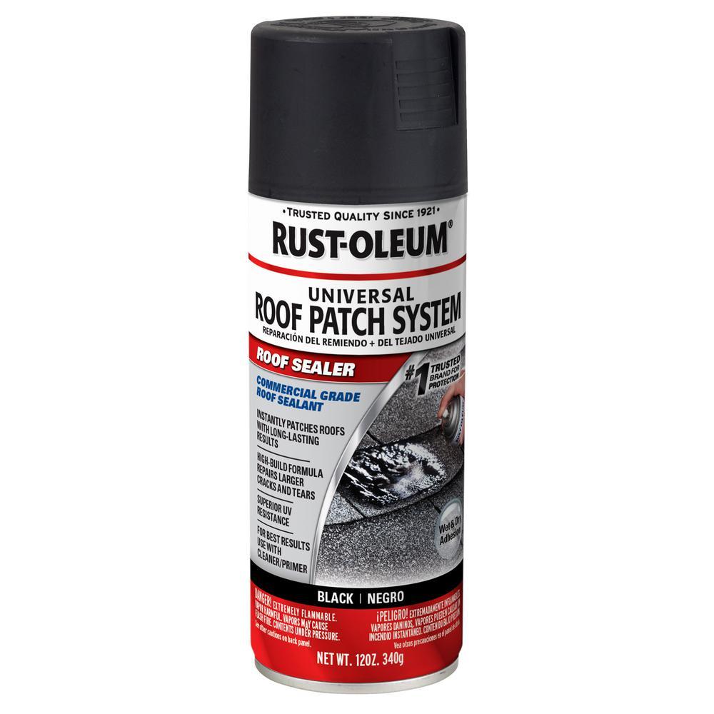 12 oz. Black Roof Patch Sealer Spray (6-Pack)