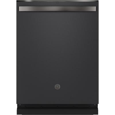 Top Control Tall Tub Dishwasher in Black Slate with Stainless Steel Tub and Steam Prewash, Fingerprint Resistant, 48 dBA