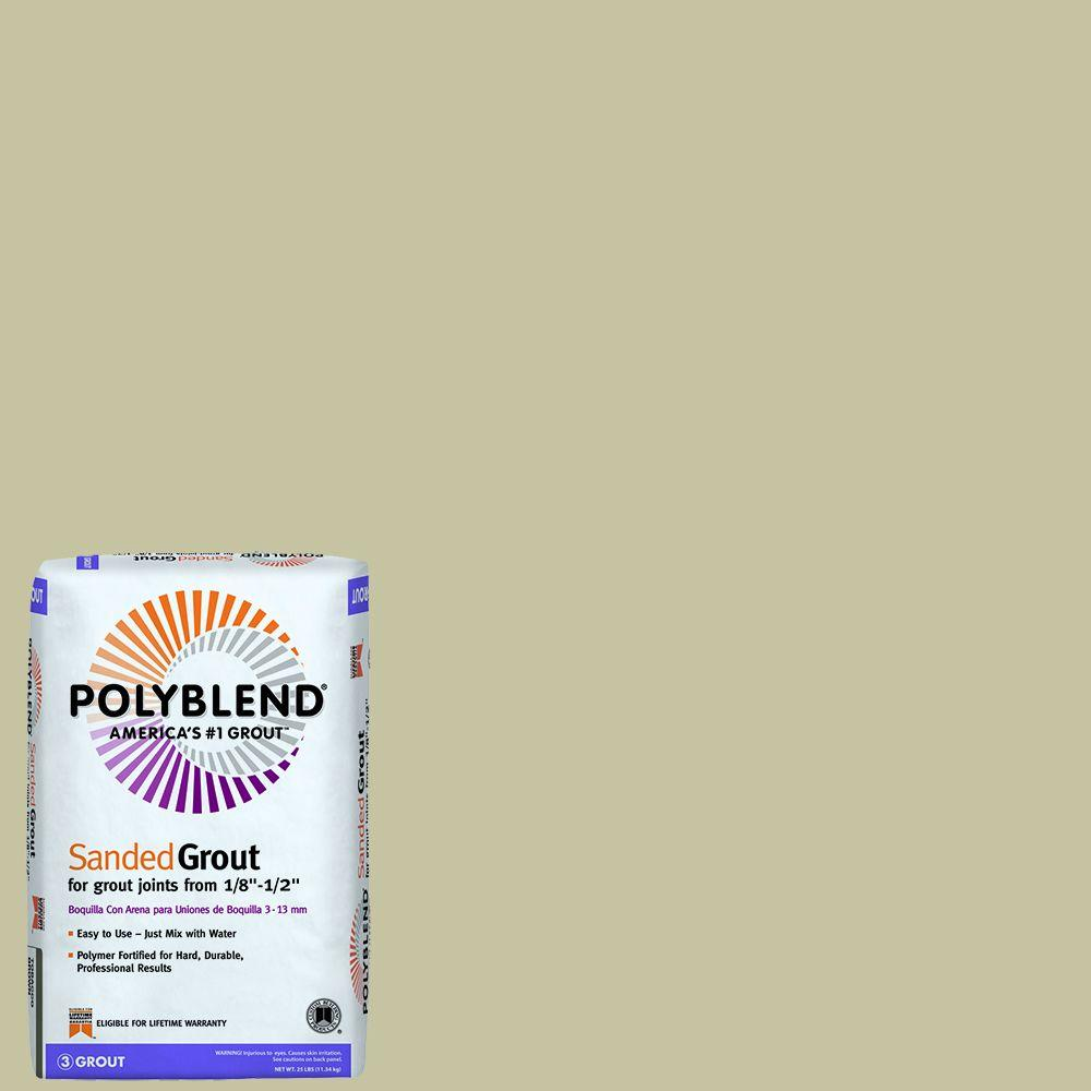 Custom Building Products Polyblend #127 Antique Linen 25 lb. Sanded Grout