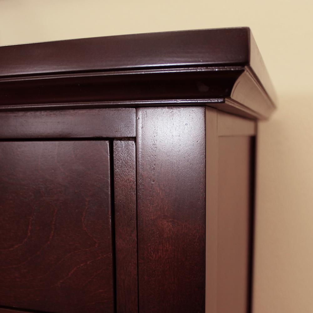 DonnieAnn Lindendale Espresso Sideboard/Buffet Table 714160