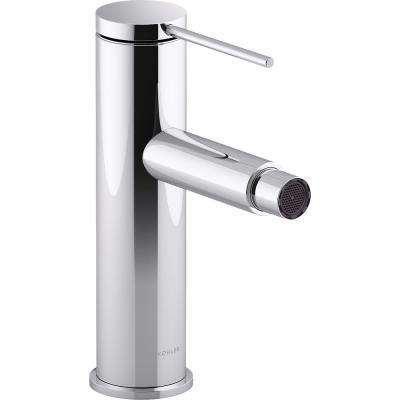 Components Single-Handle Bidet Faucet with Pin Handle in Polished Chrome